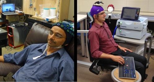 Brain to brain communication setup